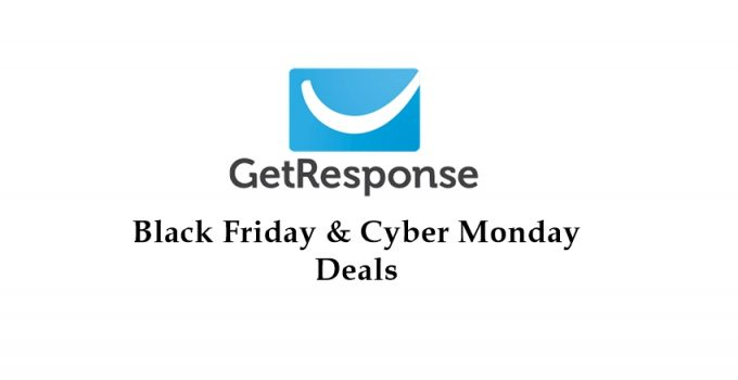 GetResponse black friday deals