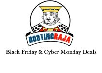 Hosting raja Black friday deals