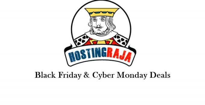 Hosting raja Black friday deals