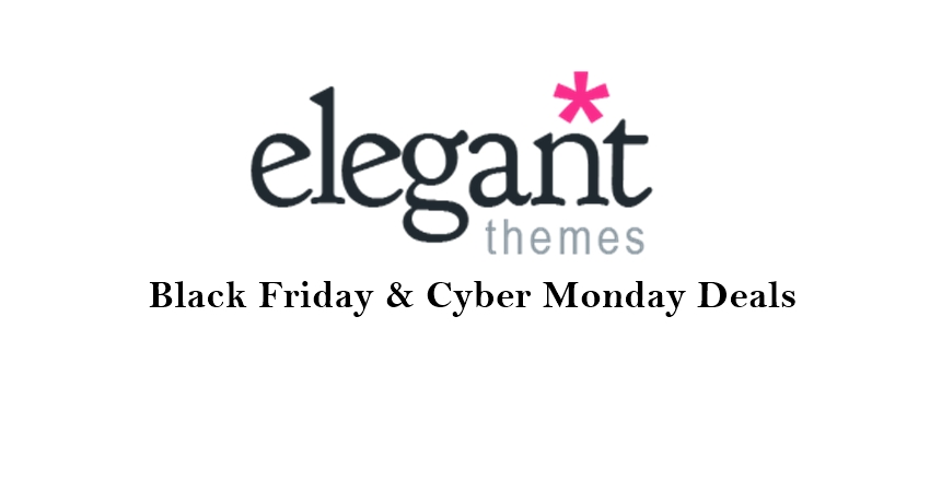 elegant themes black friday deals