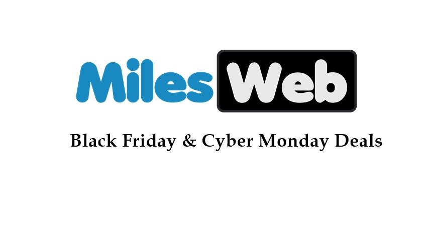 milesweb black friday deals