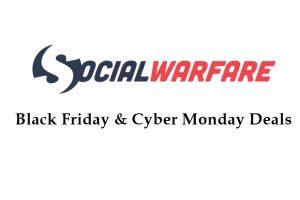 social warfare black friday deals
