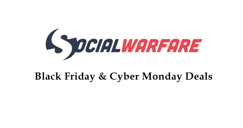 social warfare black friday deals