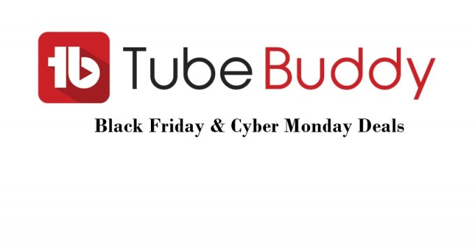 tubebuddy black friday deals