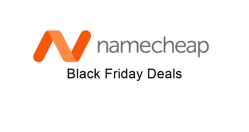 namecheap black friday deals