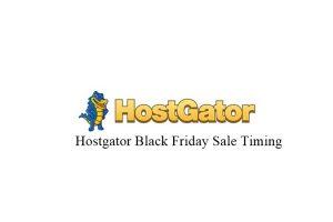 hostgator black friday sale timing